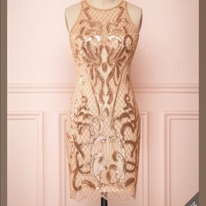 Dresses & Skirts - Gorgeous Brand New Evening Dress- Rose Gold